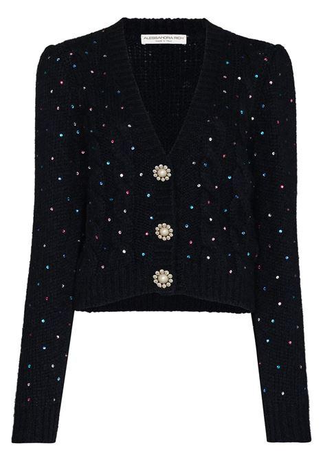 Crop cardigan ALESSANDRA RICH | Sweaters | FAB2464K25971591