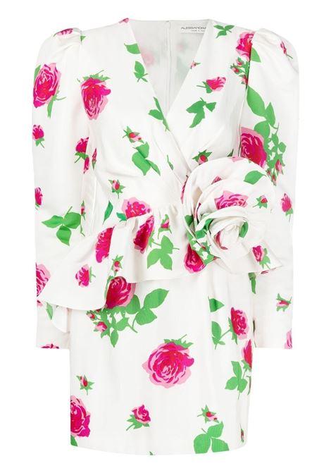 Alessandra Rich abito mini donna white pink ALESSANDRA RICH   Abiti   FAB2474F32021921