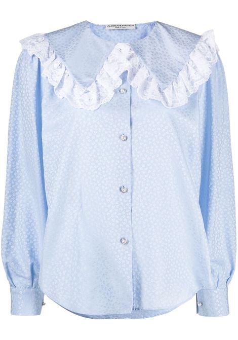 Ruffled-collar blouse ALESSANDRA RICH | Shirts | FAB2475F32041674