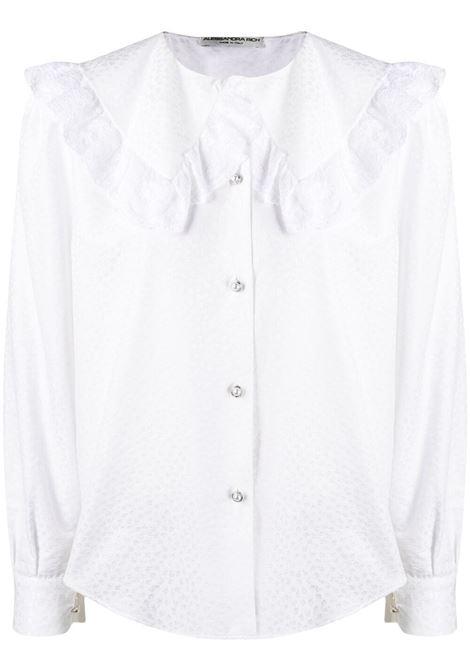 Lace-collar shirt ALESSANDRA RICH | Shirts | FAB2475F3204822