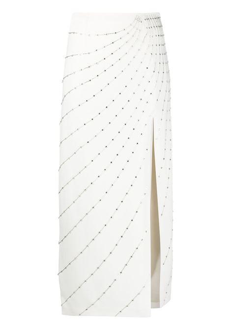 Crystal-embellished skirt ALESSANDRA RICH | Skirts | FAB2509F2464822
