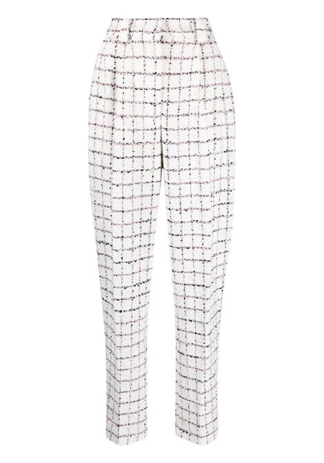 Check tailored trousers ALESSANDRA RICH | Trousers | FAB2518F3170822
