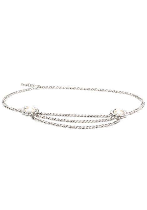 Pearl-embellished belt ALESSANDRA RICH | Belts | FABA2326J342001