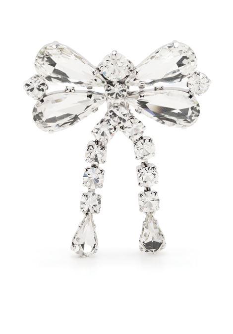 Alessandra Rich orecchini con cristalli donna crystal silver ALESSANDRA RICH | Orecchini | FABA2329J004001
