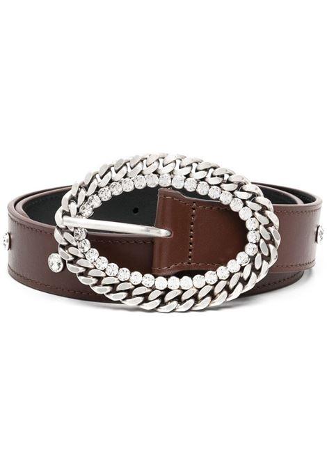 Crystal-embellished belt ALESSANDRA RICH | Belts | FABA2339L0071758