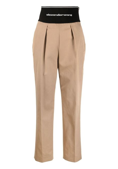 Pantaloni con logo ALEXANDER WANG | Pantaloni | 1WC2214345282