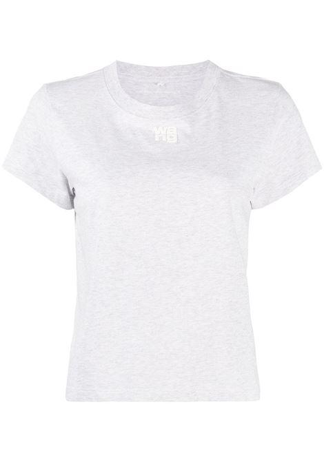 T-shirt con stampa ALEXANDER WANG | T-shirt | 4CC1201154050