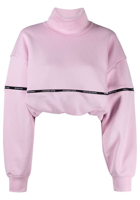 Alexander wang cropped jumper women cradle pink ALEXANDER WANG | Sweaters | 4CC2211183682