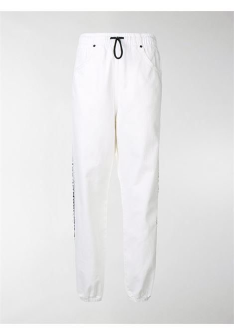 Pantaloni sportivi con logo Donna ALEXANDER WANG | 4D994326CFOPTCWHT