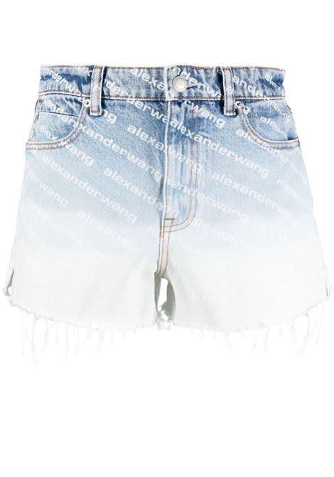 Pantaloncini con monogramma ALEXANDER WANG | Shorts | 4DC2214930270