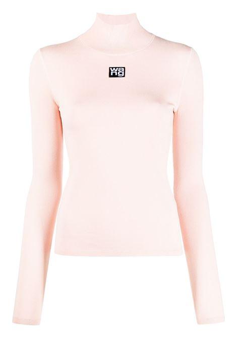 Alexander Wang  maglione a collo alto donna light peach ALEXANDER WANG | Top | 4KC2201012681