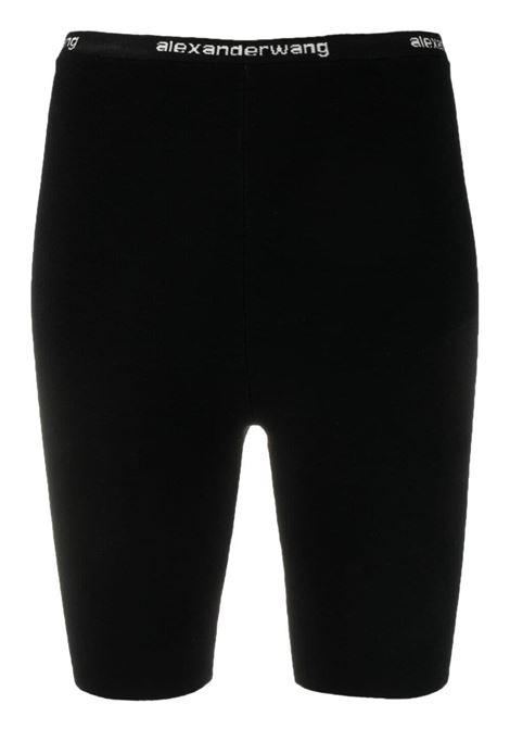 Alexander Wang  shorts da ciclismo donna black ALEXANDER WANG | Shorts | 4KC2214067001
