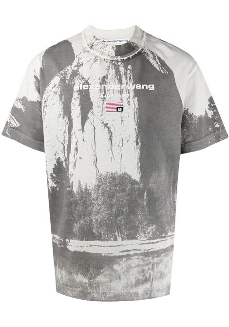 Alexander Wang  t-shirt con fantasia tie dye unisex grey ALEXANDER WANG | T-shirt | UCC2211419020