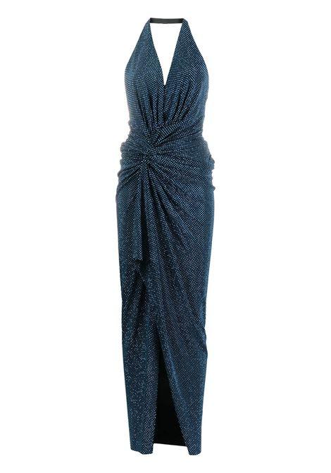 Alexandre Vauthier abito con paillettes donna azure ALEXANDRE VAUTHIER | Abiti | 211DR1416BAZR