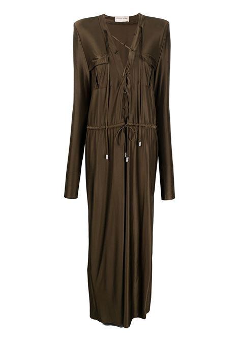 Safari dress ALEXANDRE VAUTHIER | Dresses | 211DR1437BRNZ