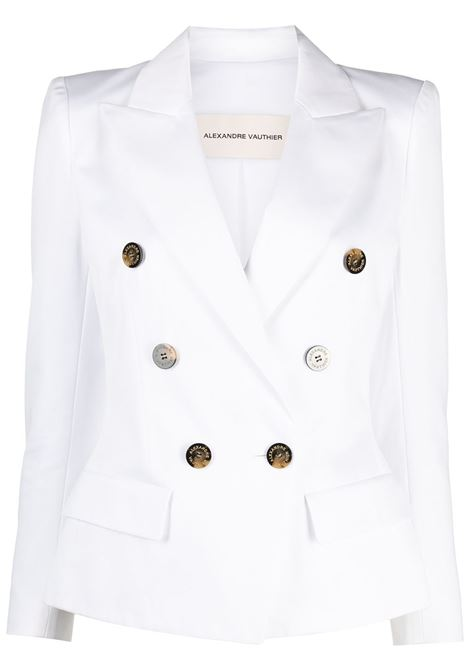 Double-breasted blazer ALEXANDRE VAUTHIER | Blazers | 211JA802BISWHT