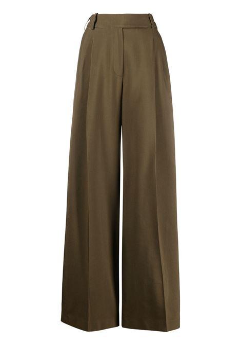 Wide-leg trousers ALEXANDRE VAUTHIER | Trousers | 211PA1350BRNZ