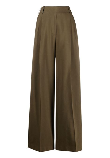 Alexandre Vauthier pantaloni a gamba ampia donna bronze ALEXANDRE VAUTHIER | Pantaloni | 211PA1350BRNZ