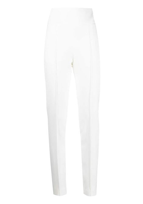 High-waisted trousers ALEXANDRE VAUTHIER | Trousers | 211PA900OFFWHT