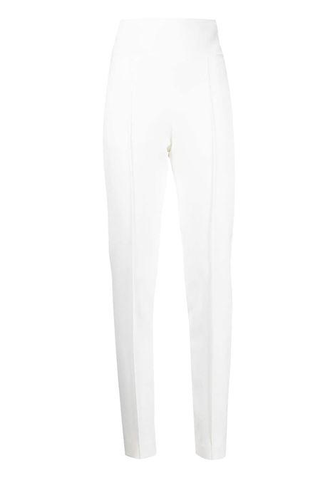 Alexandre Vauthier pantaloni a vita alta donna off white ALEXANDRE VAUTHIER | Pantaloni | 211PA900OFFWHT