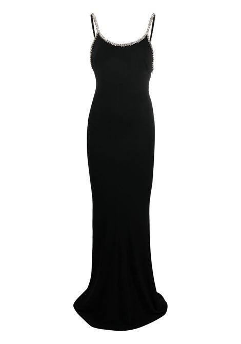 Alexandre vauthier embellished-trim dress women black ALEXANDRE VAUTHIER | Dresses | 212DR1457BBLK