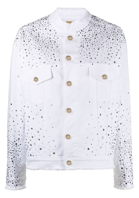 Alexandre vauthier embellished denim jacket women white ALEXANDRE VAUTHIER | Outerwear | 212JA1400BWHT