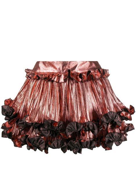 Alexandre vauthier ruffle-hem mini skirt women coral ALEXANDRE VAUTHIER | Skirts | 212SK1451CRL