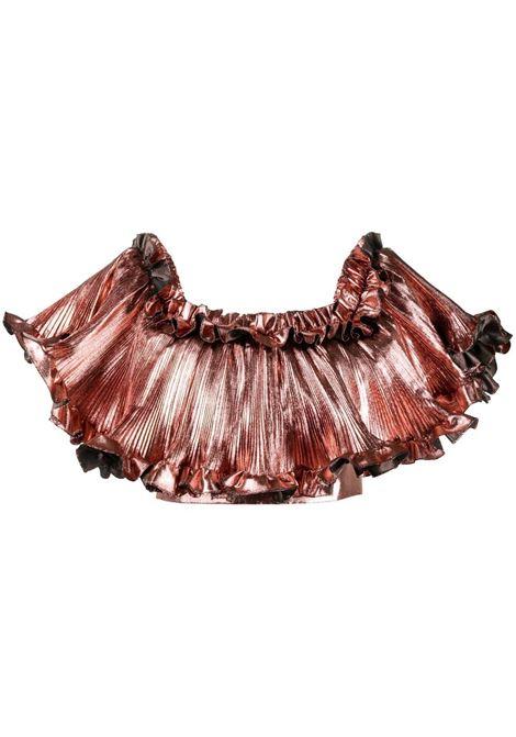 Alexandre vauthier ruffle-trim skirt women coral ALEXANDRE VAUTHIER | Top | 212TO1452CRL