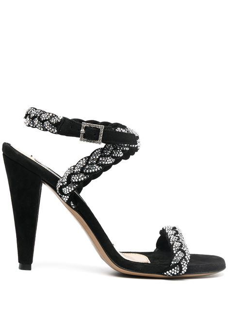 Braided 100mm sandals ALEXANDRE VAUTHIER | Sandals | INESANDALCRYBLK