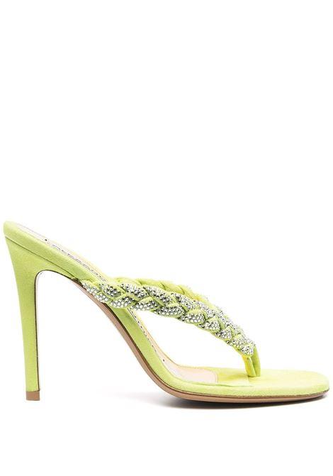 Crystal-embellished sandals ALEXANDRE VAUTHIER | Sandals | JOJOSANDALCRYLM