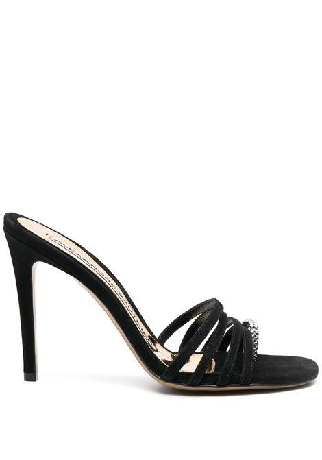 Crystal embellished sandals ALEXANDRE VAUTHIER | Sandals | SALMATHONGCRBLK