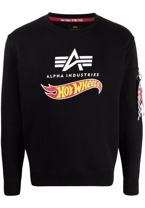 Logo sweatshirt men ALPHA INDUSTRIES X HOT WEELS | Sweatshirts | 11631603