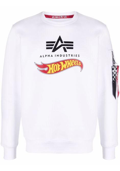 Logo sweatshirt men ALPHA INDUSTRIES X HOT WEELS | Sweatshirts | 11631609