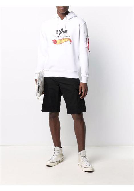 Logo sweatshirt men ALPHA INDUSTRIES X HOT WEELS | 11634409
