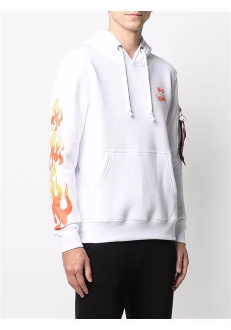 Logo sweatshirt men ALPHA INDUSTRIES X HOT WEELS | 116345A09