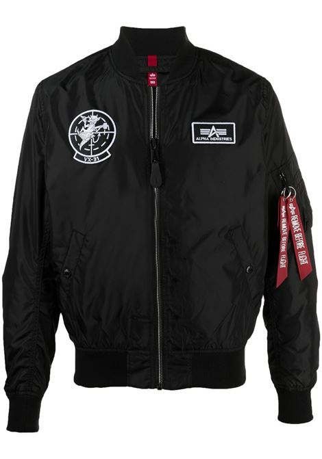 Logo bomber jacket  ALPHA INDUSTRIES | Outerwear | 11610203