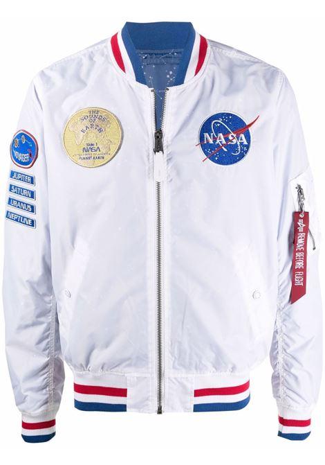 Nasa badge bomber jacket men ALPHA INDUSTRIES | 11610509