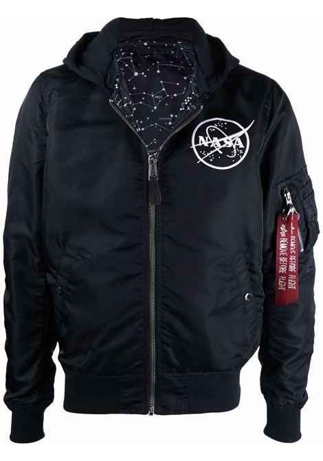 Nasa badge bomber jacket men ALPHA INDUSTRIES | 11610607