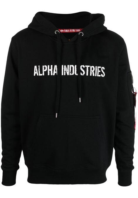 Remove Before Flight sweatshirt  ALPHA INDUSTRIES | Sweatshirts | 116337A03