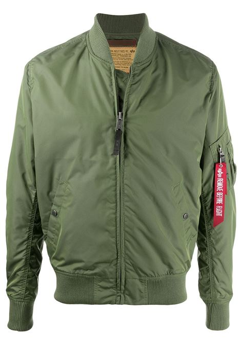 Alpha industries bomber jacket sage green ALPHA INDUSTRIES | Outerwear | 19110301