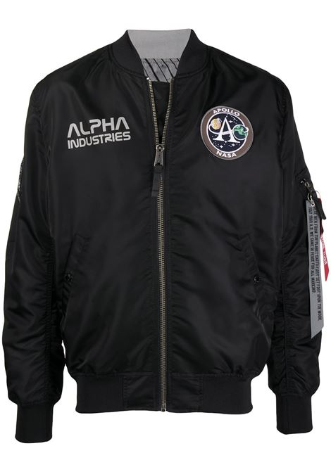 Logo patch bomber jacket ALPHA INDUSTRIES | Outerwear | 19612503