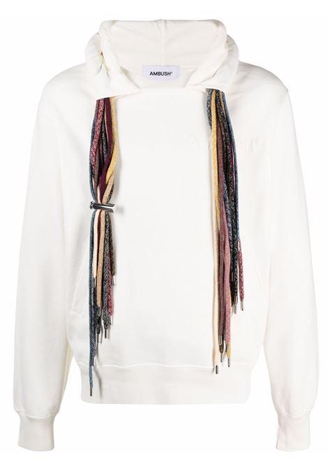 Ambush logo sweatshirt off white AMBUSH | Sweatshirts | BMBB003S21FLE0010304