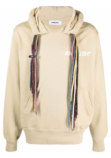 Ambush logo sweatshirt sand white AMBUSH | Sweatshirts | BMBB003S21FLE0011704