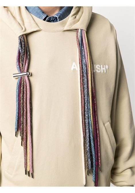 Ambush logo sweatshirt sand white AMBUSH | BMBB003S21FLE0011704