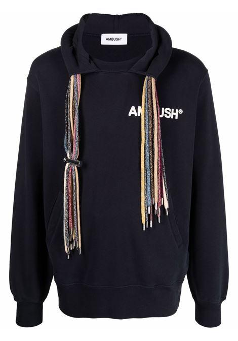 Ambush logo sweatshirt navy blue white AMBUSH | Sweatshirts | BMBB003S21FLE0014504