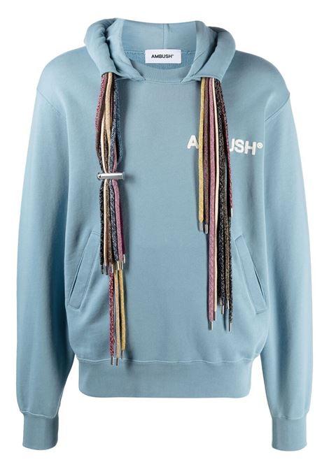 Ambush logo sweatshirt blue white AMBUSH | Sweatshirts | BMBB003S21FLE0014604