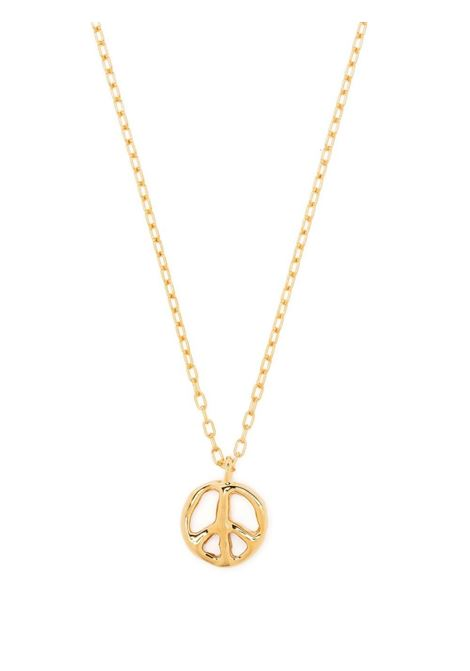 Ambush collana peace uomo gold AMBUSH | Collane | BMOB051S21MET0027600