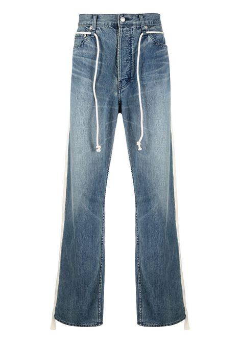 Ambush stripe appliqué jeans blue AMBUSH | Jeans | BMYA011S21DEN0014500