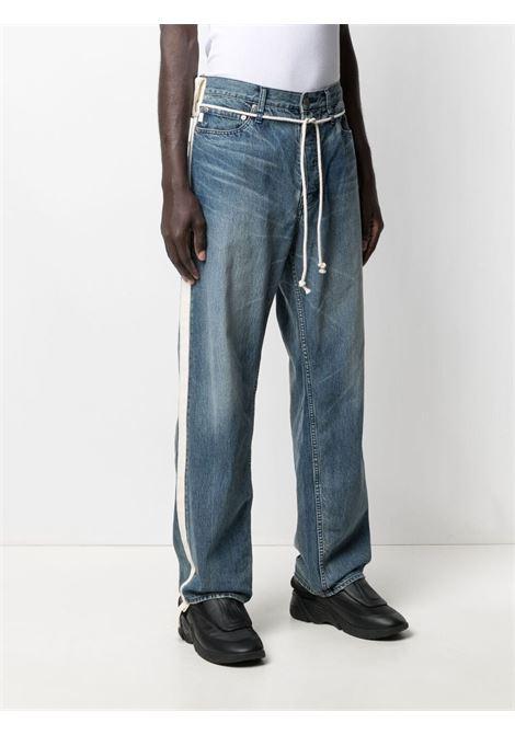 Jeans con coulisse Uomo AMBUSH | BMYA011S21DEN0014500