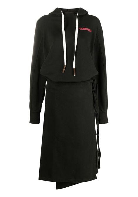 Ambush sweatshirt dress women black red AMBUSH | BWBB002S21FLE0011025